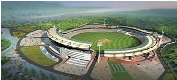 International Sports Academy and Cricket Stadium in Rajgir
